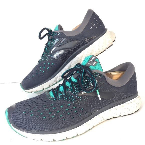 online retailer fcef4 066b1 Brooks Glycerin 16 Mens Size 9.5 Running Sneakers